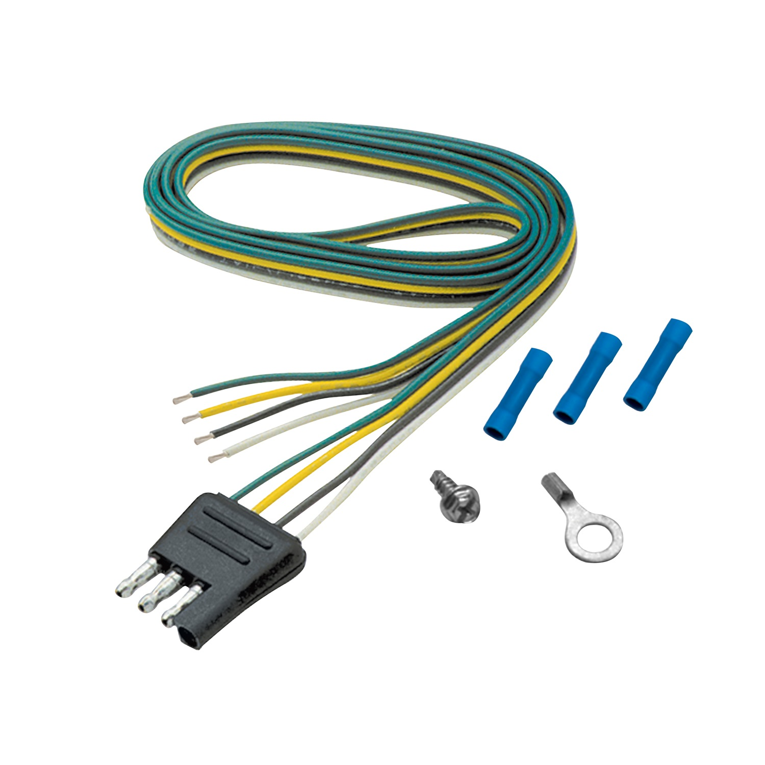 Electrical Connector Pin Flat Wire Harness