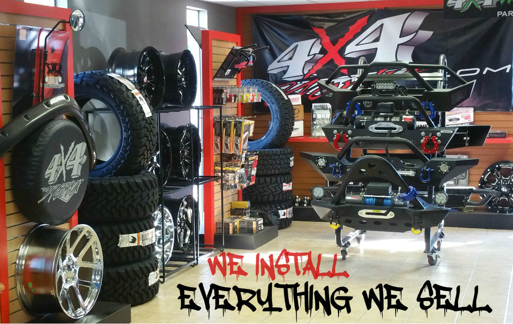 We install everything we sell