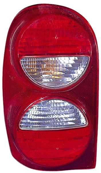 Right Tail Light Without Air Dam 05 07 Jeep Liberty Kj