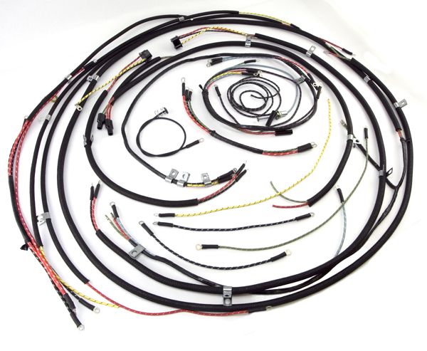Wiring Harness 45 46 Willys Cj2a