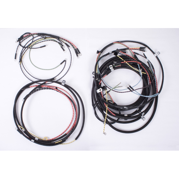 wiring harness 46 49 willys cj2a chassis wire harness. Black Bedroom Furniture Sets. Home Design Ideas