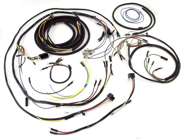 Wiring Harness 57 64 Willys Cj3b