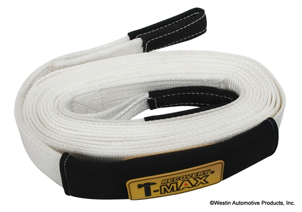 TOW/SNATCH STRAP WHITE   Winch Rope