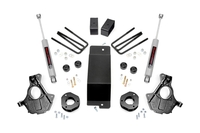 Image 3.5in GM Suspension Lift   Knuckle Kit (07-13 1500 PU 4wd   Cast Steel)