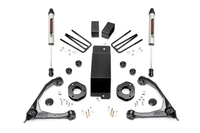 Image 3.5in GM Suspension Lift Kit w/ Forged Upper Control Arms and V2 Shocks (07-16 1