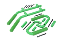 Image Jeep Solid Steel Grab Handle Set (07-18 Wrangler JK | Green)
