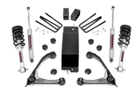 Image 3.5in GM Suspension Lift Kit w/Upper Control Arms   N3 Struts and Shocks (07-13