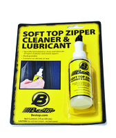 Image Soft Top Zipper Cleaner & Lubricant, Retail Package