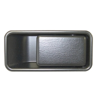 Image Door Handle Black; 87-06 Jeep Wrangler YJ/TJ