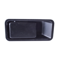 Image Half Door Handle, Left; 87-06 Jeep Wrangler YJ/TJ