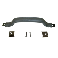 Image Interior Door Handle Kit, Gray; 87-95 Jeep Wrangler YJ