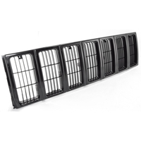 Image Grille Insert, Black; 97-01 Jeep Cherokee XJ