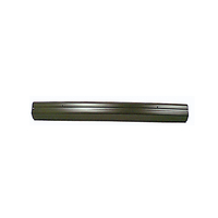 Image Front Bumper, Black; 84-96 Jeep Cherokee XJ