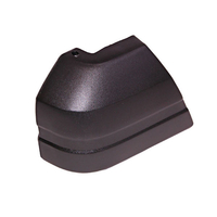 Image Right Front Bumper End Cap; 84-96 Jeep Cherokee XJ