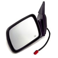 Image Remote Heated Power Mirror, Left; 93-95 Jeep Grand Cherokee ZJ