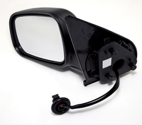 Image Side Mirror, LH, Power, Non-Heated; 99-04 Jeep Grand Cherokee WJ