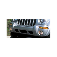 Image Front Bumper Cover; 02-04 Jeep Liberty Renegade KJ