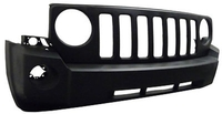 Image Front Bumper Cover, without Tow Hooks; 07-10 Jeep Patriot MK