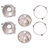 Image Headlight Assemblies; 76-86 Jeep CJ Models
