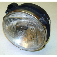 Image Headlight Assy with Bulb RH; 97-06 Jeep Wrangler TJ