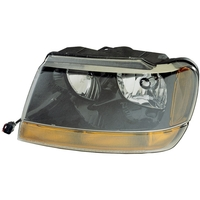 Image Left Headlight; 99-04 Jeep Grand Cherokee WJ