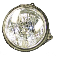 Image Left Headlight; 05-07 Jeep Liberty KJ