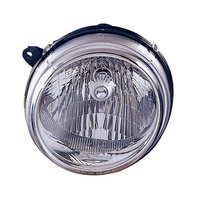 Image Left Headlight; 02-04 Jeep Liberty KJ