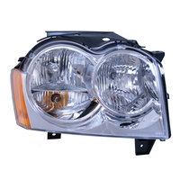 Image Right Headlight Assembly; 05-10 Jeep Grand Cherokee WK