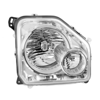 Image LH Headlight with Fog Light; 08-10 Jeep Liberty KK