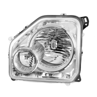 Image RH Headlight with Fog Light; 08-10 Jeep Liberty KK