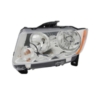 Image Headlight Assembly, Left; 11-13 Jeep Grand Cherokee WK