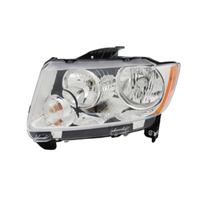 Image Headlight Assembly, Left; 11-14 Jeep Compass MK