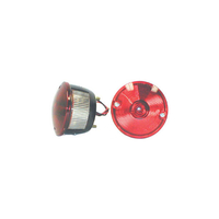 Image Left Round Tail Lamp; 45-75 Willys/CJ