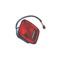 Image Left Black Tail Lamp; 76-80 Jeep CJ Models