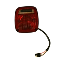 Image Right Black Tail Lamp; 76-80 Jeep CJ Models