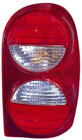 Image Left Tail Light Without Air Dam; 05-07 Jeep Liberty KJ