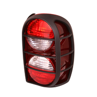 Image Left Tail Light with Air Dam; 05-07 Jeep Liberty KJ