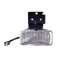 Image Left Side Fog Lamp; 97-98 Jeep Grand Cherokee ZJ