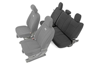 Image Ford Neoprene Rear Seat Cover | Black [15-18 F-150 XL, XLT]