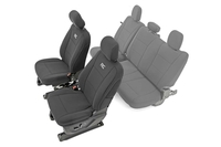 Image Ford Neoprene Front Seat Cover | Black [15-18 F-150 XL, XLT]