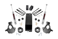 Image 3.5in GM Suspension Lift   Knuckle Kit (14-18 1500 PU 4wd   Cast Steel)
