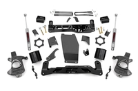 Image 5in GM Suspension Lift Kit w/V2 Monotube (14-18 1500 PU 4WD | Aluminum/Stamped S