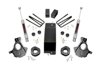 Image 3.5in GM Suspension Lift   Knuckle Kit (14-18 1500 PU 4wd   Aluminum andamp; Sta