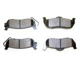 Image Rear Brake Pads; 05-10 Jeep Grand Cherokee/Commander