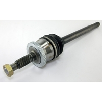 Image Axle Shaft Assembly, Front, Left; 99-04 Jeep Grand Cherokee WJ