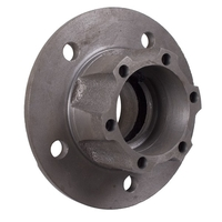 Image Front Axle Hub Assembly, 6 bolt; 66-81 Jeep CJ Models