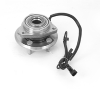Image Replacement Wheel Bearing/Hub, without AWD; 08-10 Jeep Compass/Patriot