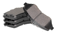 Image Rear Brake Pads; 09-12 Jeep Compass/Patriot