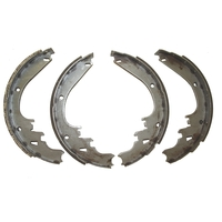Image Brake Shoes Rear, for Finned Drum; 78-91 Jeep Cherokee/Grand Cherokee