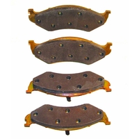 Image Brake Pads, Front ; 74-91 Jeep SJ Models